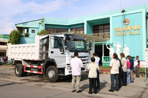 BLESSING OF NEW DUMP TRUCK RESCUE VEHICLE